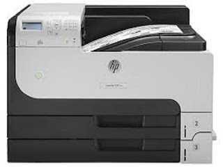 Image HP LaserJet Enterprise M712n Printer