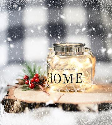 dom, święta, śnieg, miłość, słodycze