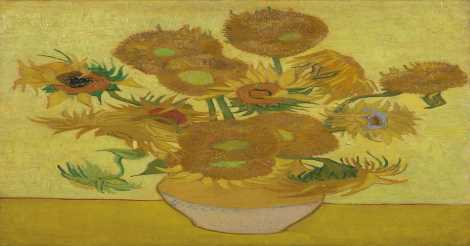 Sunflowers, Arles, Januari 1889