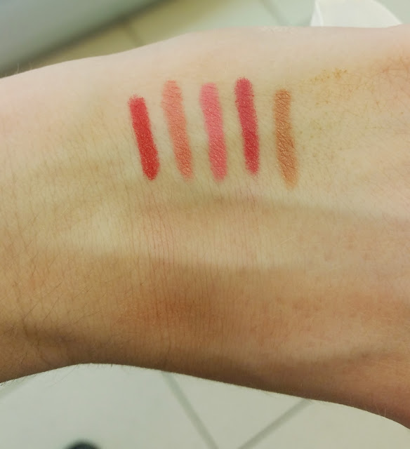 RdeL Young Matt Pencil Swatches