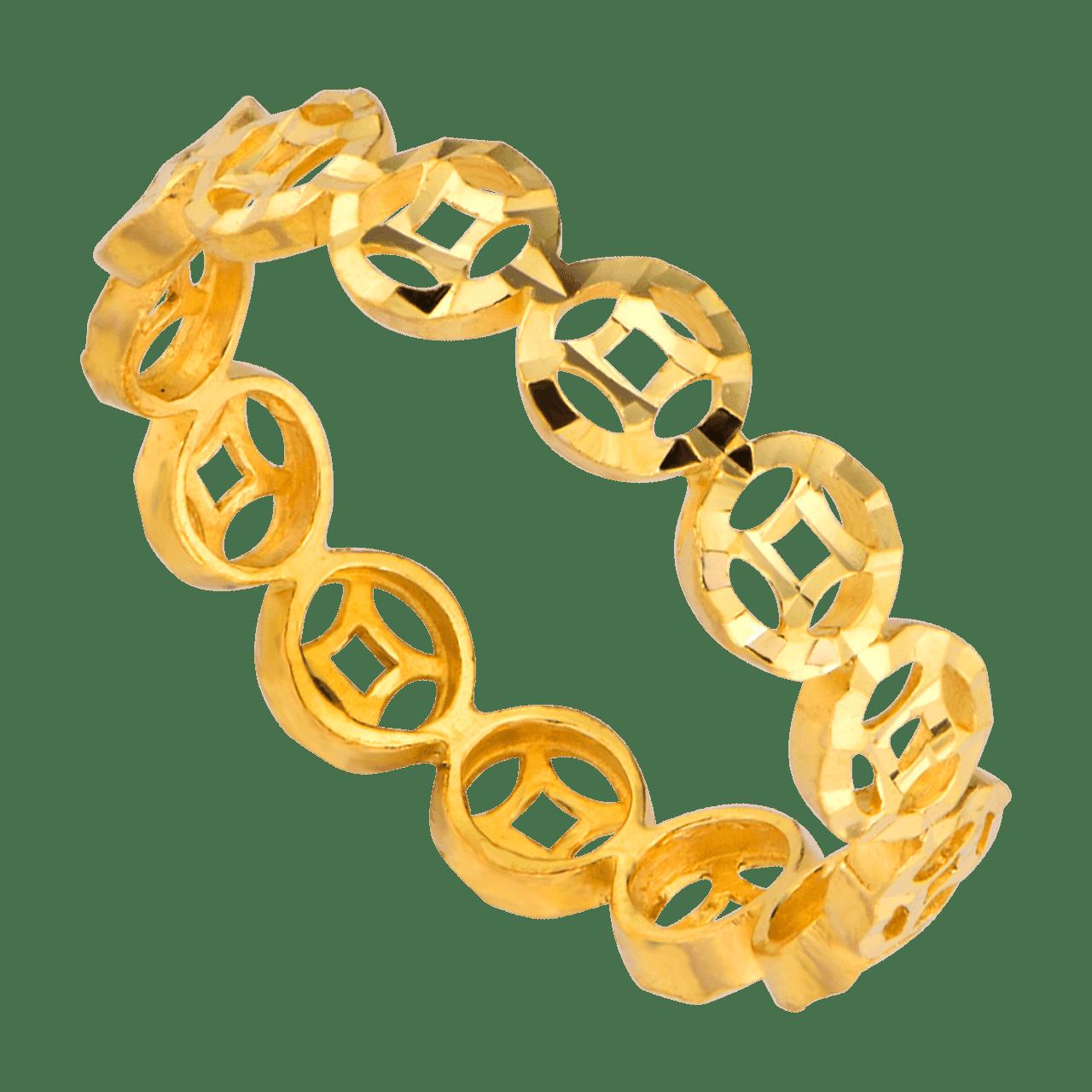 Nhẫn Kim Tiền Vàng 24K PNJ 0000Y000383
