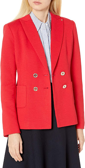 Good Quality Red Blazers Jackets For Women