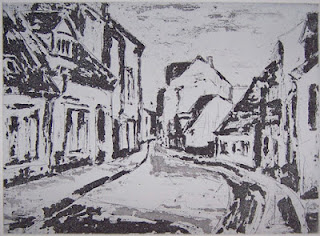 Manfred Haase: Straße in Storkow, 2007