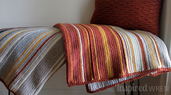 Temperature Afghan | The Inspired Wren