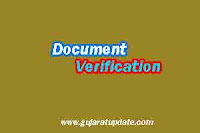 Gujarat Agricultural Universities Junior Clerk List of Candidates for Document Verification 2020