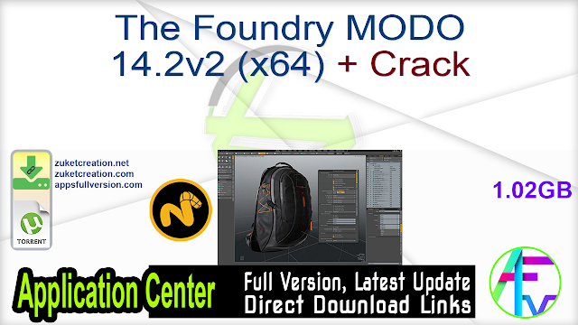 The Foundry MODO 14.2v2 (x64) + Crack