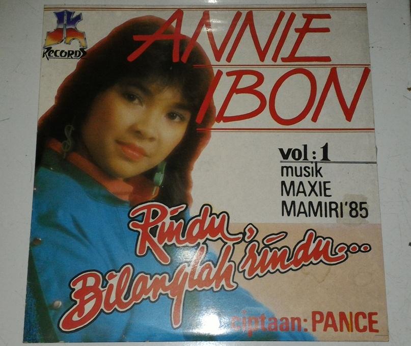 Citaten Annie Ibon : Vinyl annie ibon vol rindu bilanglah