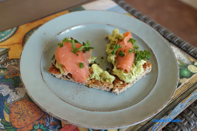 Carole's Chatter: Avocado Toast with smoked salmon