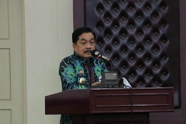 Gubernur Lampung Buka Rapat Koordinasi Pelayanan Informasi Publik Provinsi Lampung