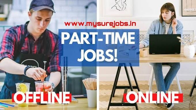 Top 10 part time job | ऑफलाइन और ऑनलाइन पार्ट टाइम जॉब करके कमाए।