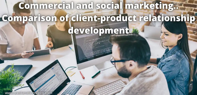 Commercial and social marketing