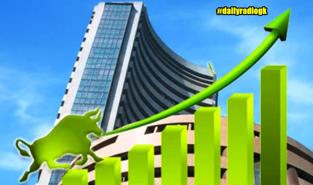 Sensex rose 208 points to reach above 4,1500, Nifty gained 55 points