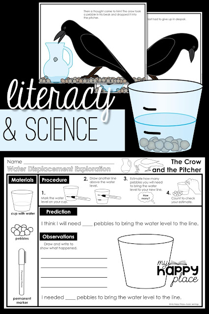 The Crow and the Pitcher - Displacement, Hands-On Science