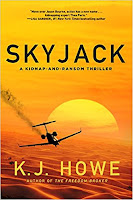 Skyjack, by K. J. Howe book cover and review
