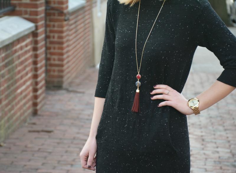 Midi Sweater Dress | Organized Mess