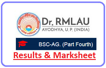 Avadh University B.Sc Agri 4th Year Result 2021