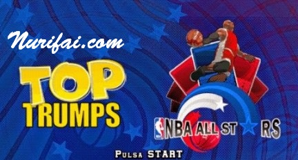 Top Trumps NBA All Stars PSP PPSSPP