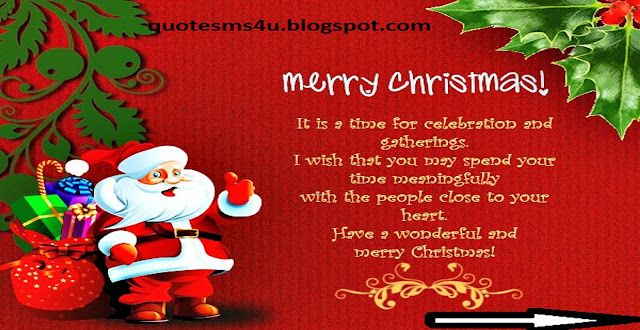 Quote sms and message Short Christmas Greeting Gessages and