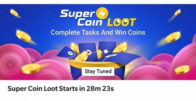 [ले लो] SuperCoin Loot – Daily Free SuperCoins From Flipkart