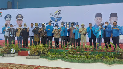 Musda KNPI Provinsi Riau XIV Pekanbaru - Pelalawan 1 - 2 April 2021 Menggabungkan Tiga Ketum  Mempersatukan Pemuda Riau