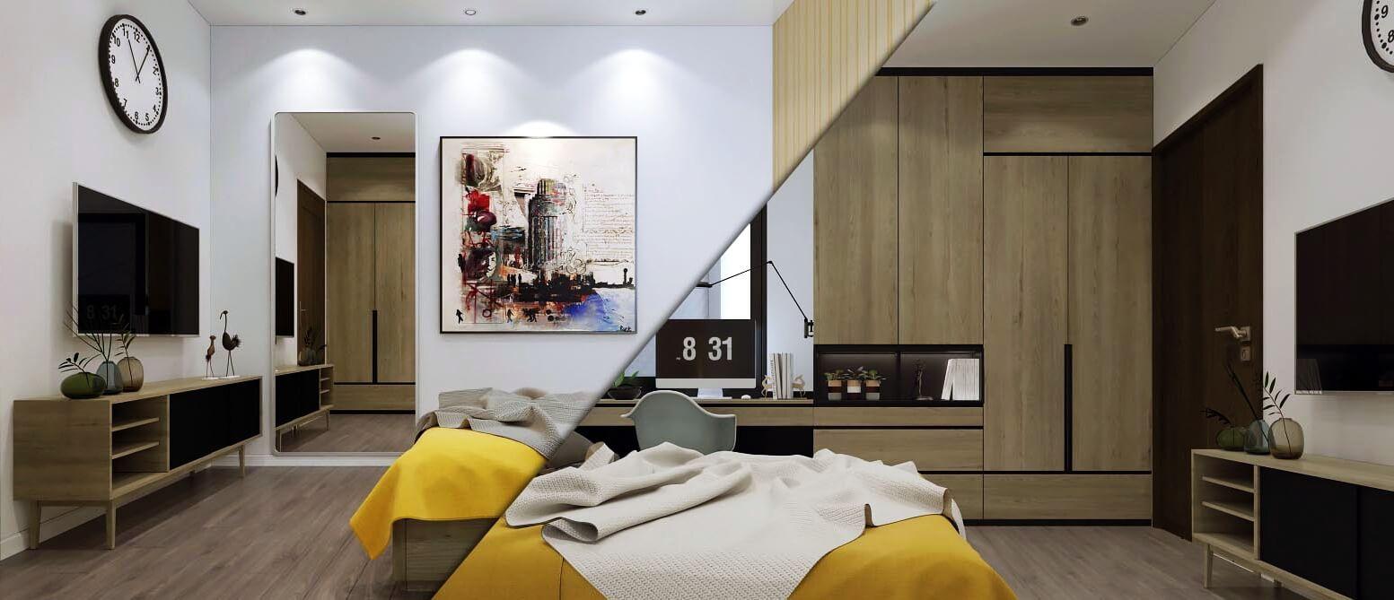 Thiết kế nội thất chung cư Vinata Tower