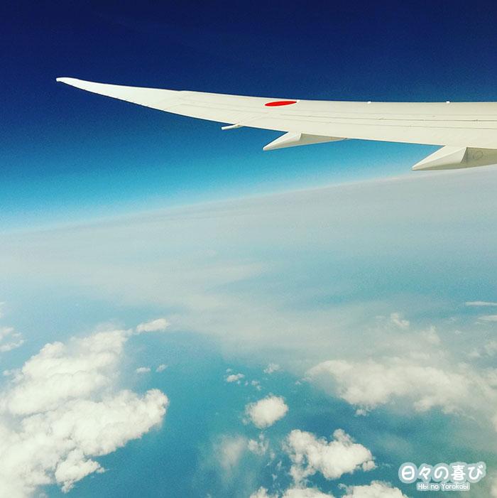 vue du ciel depuis l'avion