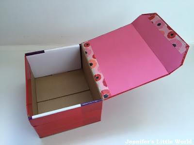 Valentine's Day themed jewellery box craft