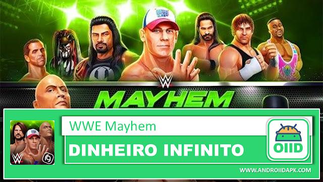 WWE Mayhem v1.28.226 – APK MOD HACK – Dinheiro Infinito