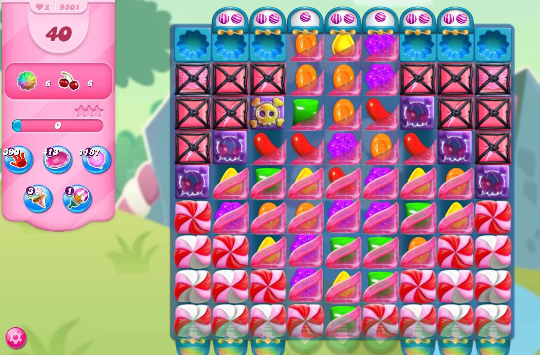 Candy Crush Saga level 9501