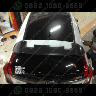 honda jazz rs 2015 modifikasi sticker