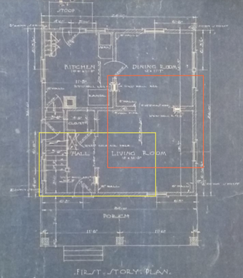 gordon van tine no 140 blue prints first floor