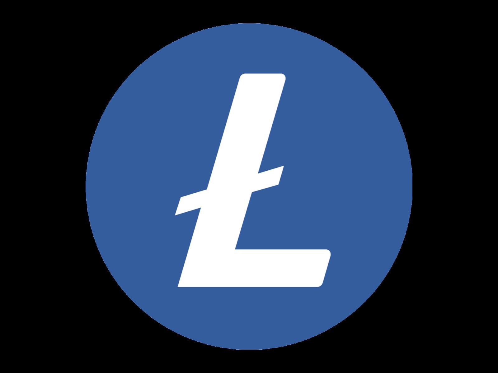 Logo Litecoin (LTC) Format PNG