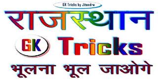 Rajasthan GK PDF 2019