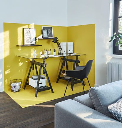 Idee Bureau Deco Top Attractive Amenager Un Petit Salon With Idee