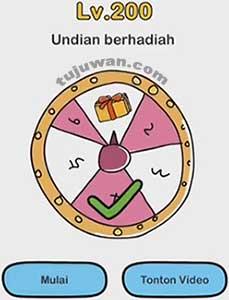 Undian Berhadiah Brain Out Jawaban Level 200