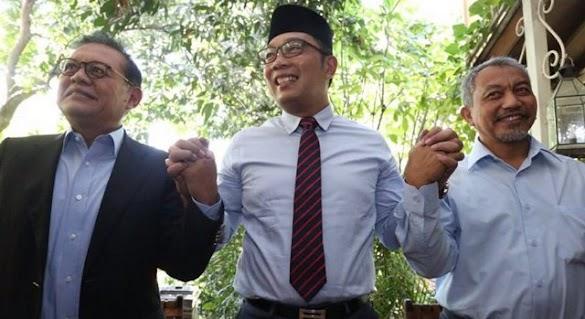 Ridwan Kamil Minta Sudrajat-Syaikhu Jadi Penasihat Pembangunan Jabar