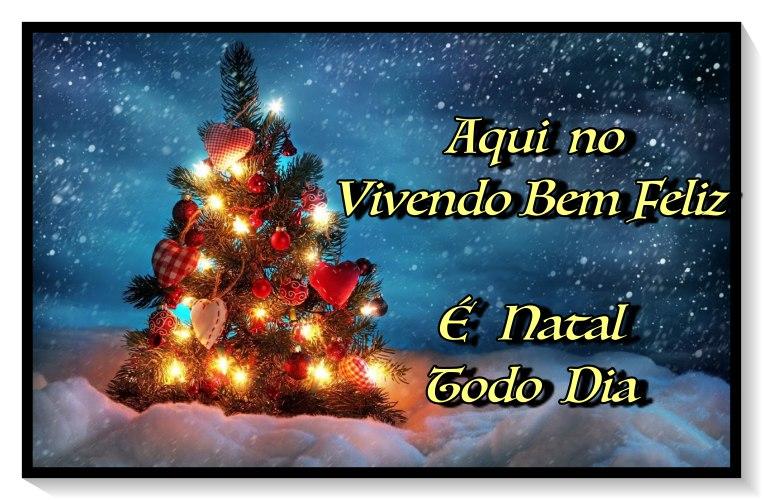No Vivendo Bem Feliz é Natal Todo Dia!