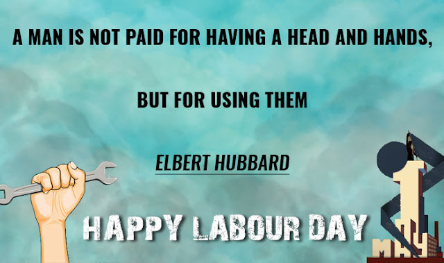 Labor day message to employees
