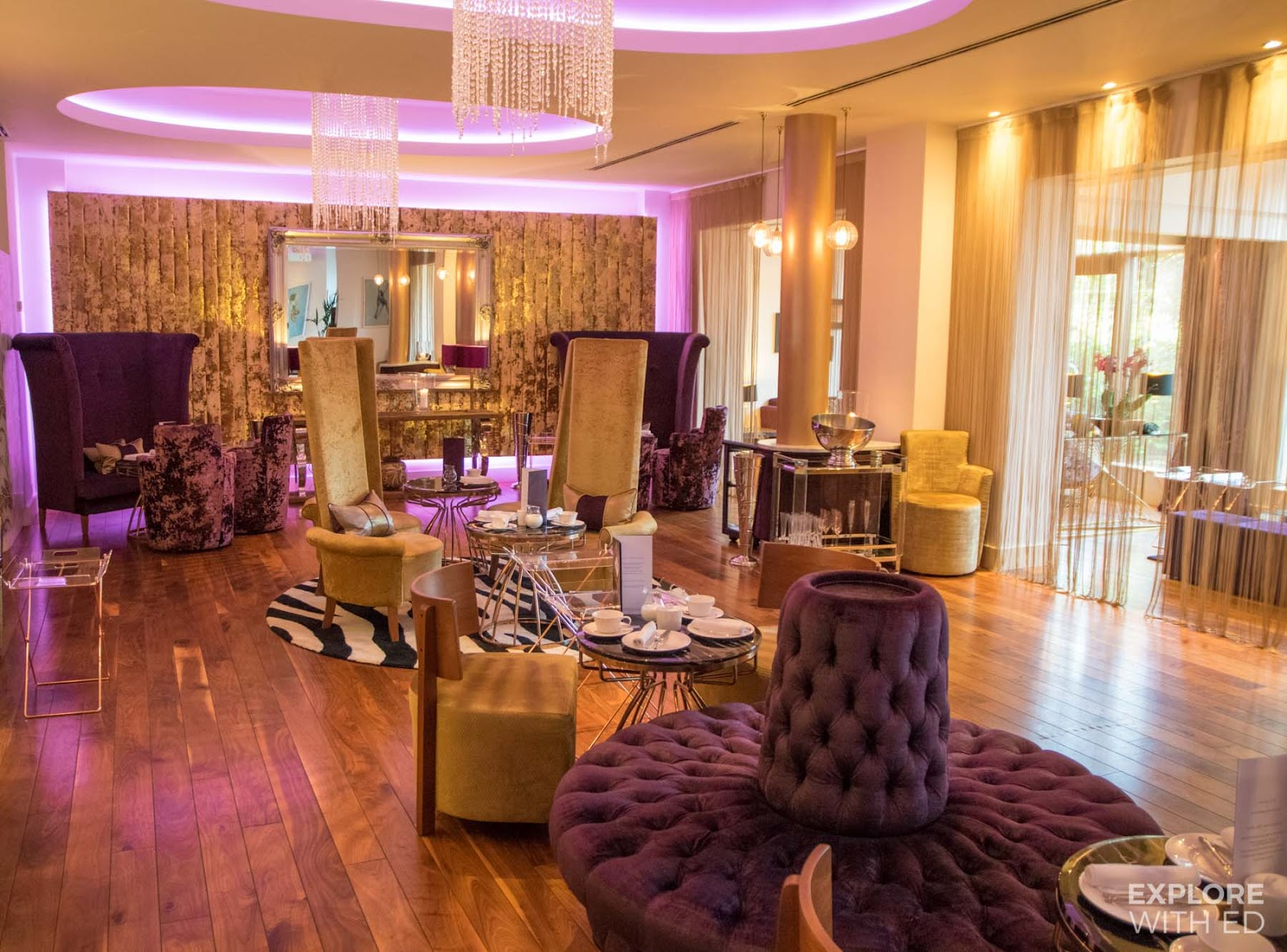 Afternoon Tea at Mulberry Bar, The Celtic Manor