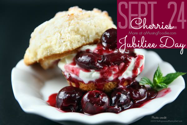 National Cherries Jubilee Day Wishes Pics