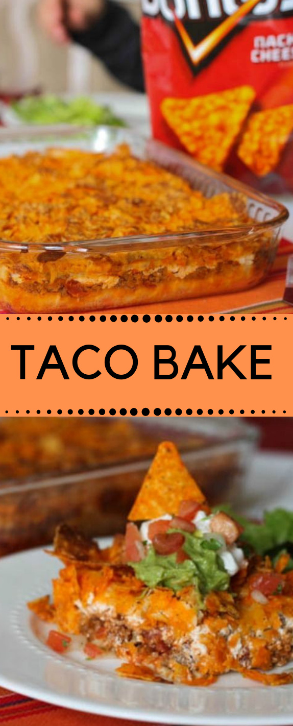 TACO BAKE #dinner #taco #healthyrecipes #meals #vegan