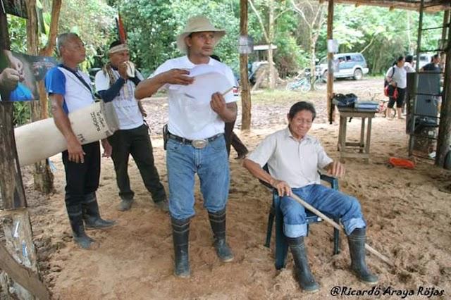 Indígena Maleku hace llamado a autoridades centroamericanas a favor del ambiente