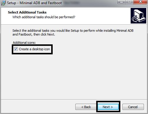 Installing Minimal ADB dan Fastboot 5