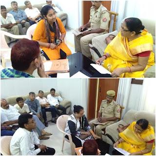Rajya Mahila Ayog Suman Singh Listen To Female Complaints Uttar Pradesh
