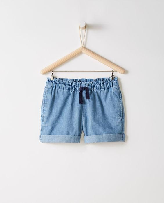 Hanna Andersson Chambray Shorts
