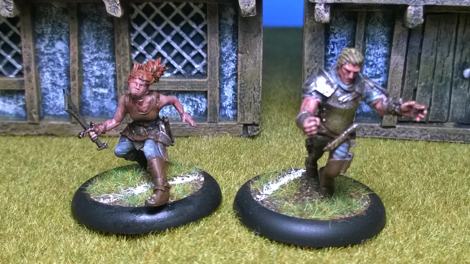 guildball masons harmony flint painted