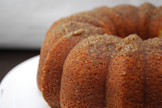 Homemade Scratch Rum Cake Recipe
