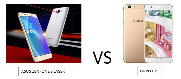 Perbandingan Asus Zenfone 3 Laser VS Oppo F1S, Manakah Yang Lebih Unggul Spesifikasi dan Fiturnya