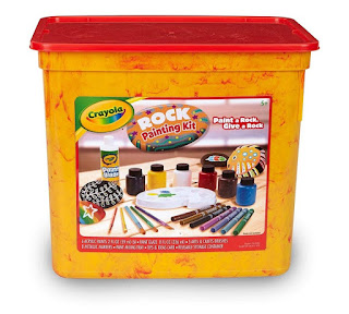Crayola Rock Painting Set for Outdoors