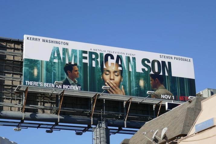 American Son Netflix movie billboard